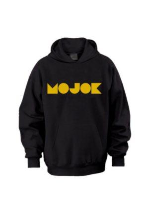 Hoodie Mojok Emas (Hitam)