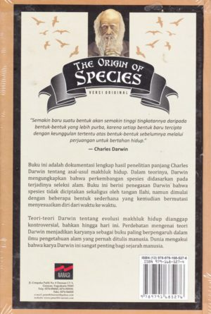 The Origin of Species belakang